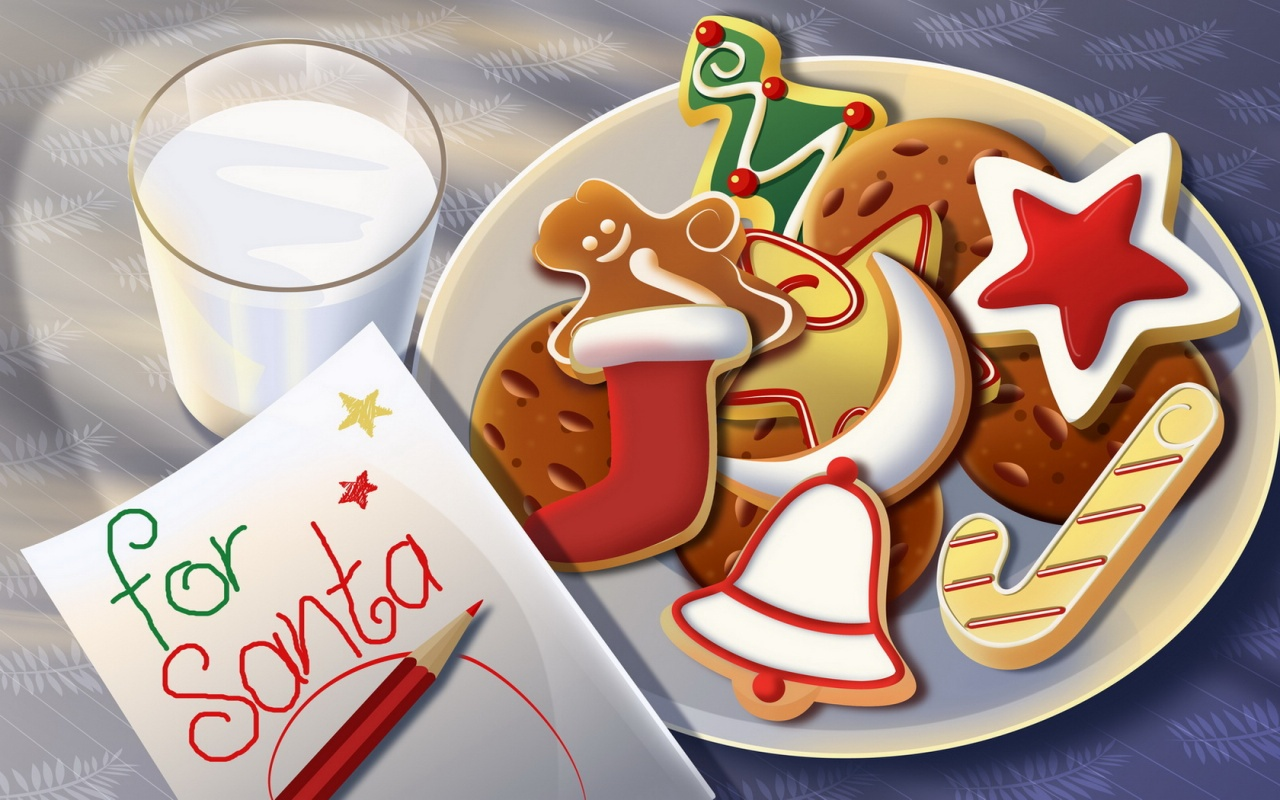 Letter to Santa - Cookies for Santa - Real North Pole Mail